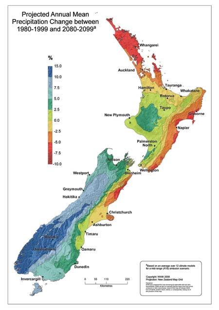 Niwa Climate Change Maps Niwa