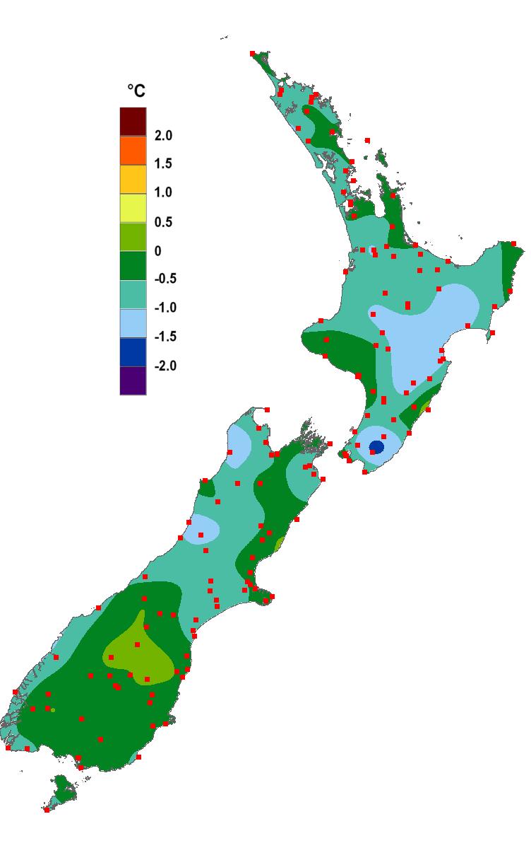 Current Climate September 2011 Niwa