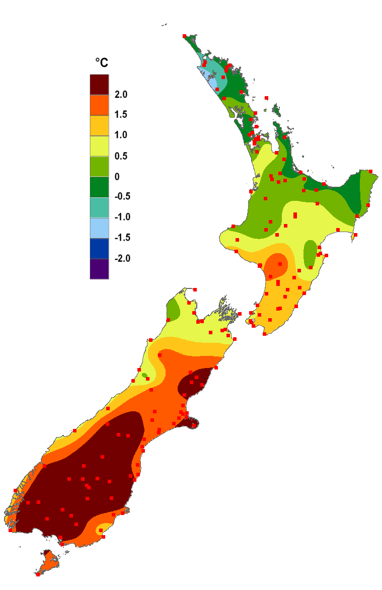 Current Climate July 2013 Niwa