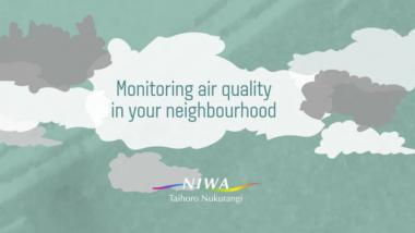 Monitoring air quality in your neighbourhood