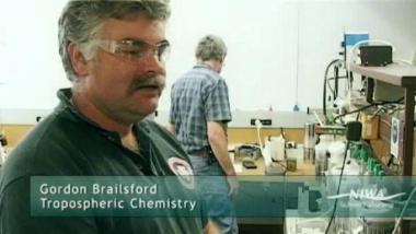 Gordon Brailsford - Tropospheric Chemistry, NIWA
