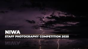 2020 NIWA staff photography competition