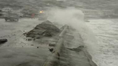 Raw footage - Wellington storm, June 21 2013