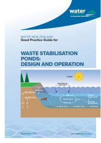 Good practice guide for waste stabilization ponds design for Design of stabilisation pond